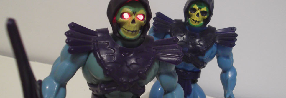 Custom Skeletor Eyes Video
