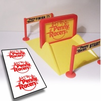 Penny Racers Stunt Set decals