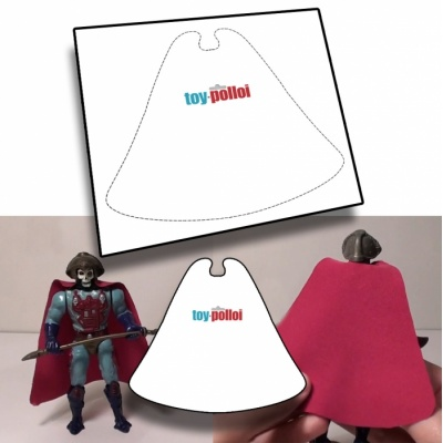 Skeletor Cape pattern
